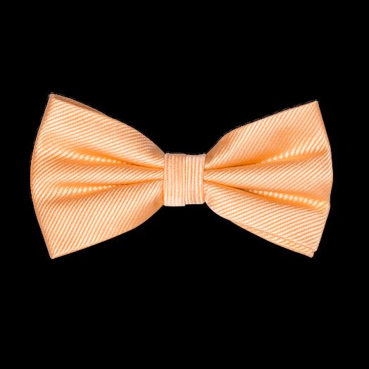 Achat choisir officiel conception adroite Nœud Papillon Orange Pêche - Soie