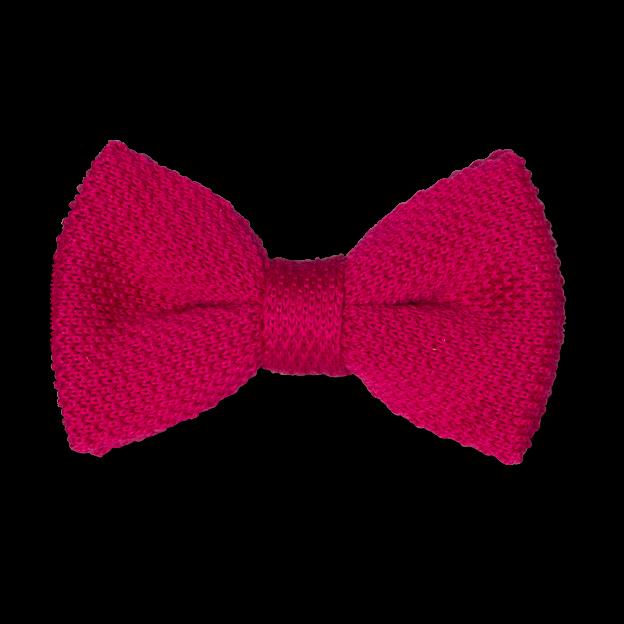 n ud papillon en tricot fuchsia rose shop en ligne. Black Bedroom Furniture Sets. Home Design Ideas