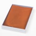 Pochette en soie rouille