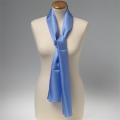 Foulard en soie - bleu clair