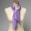 Foulard en soie lila