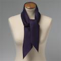 Foulard en soie violet